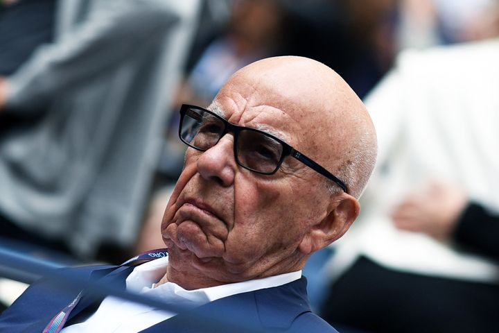 Murdoch's Fox Networks Group in London was raided by the European Commission on Tuesday.