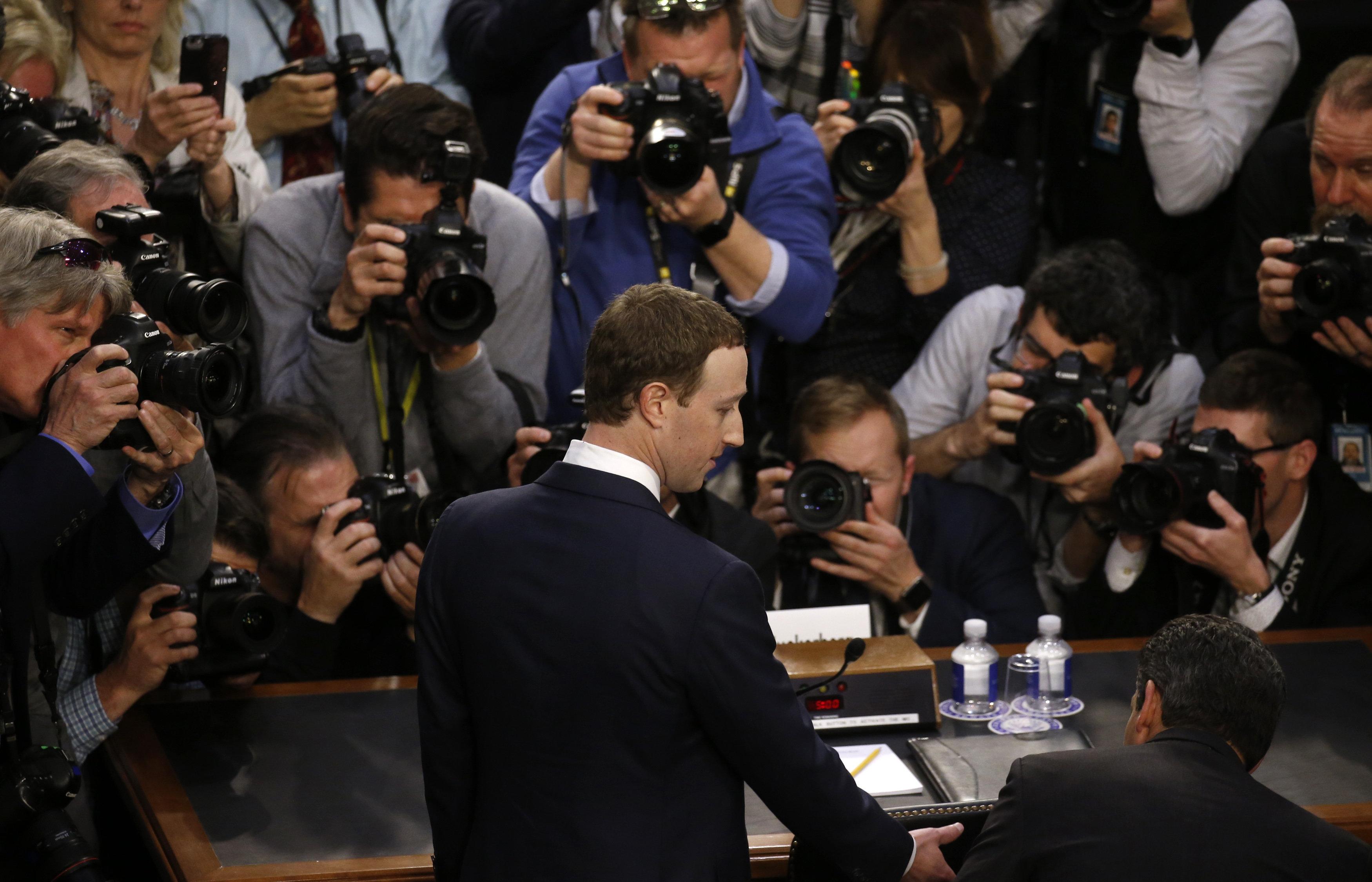Facebook chief Mark Zuckerberg admits responsibility for data misuse