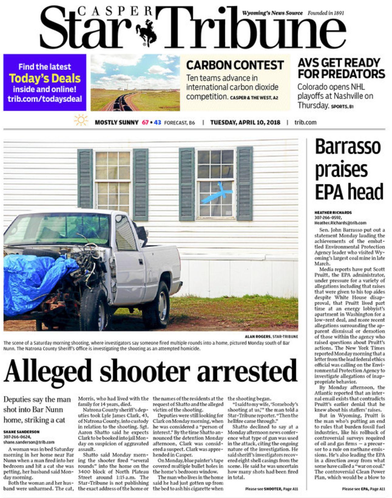 Casper Star-Tribune