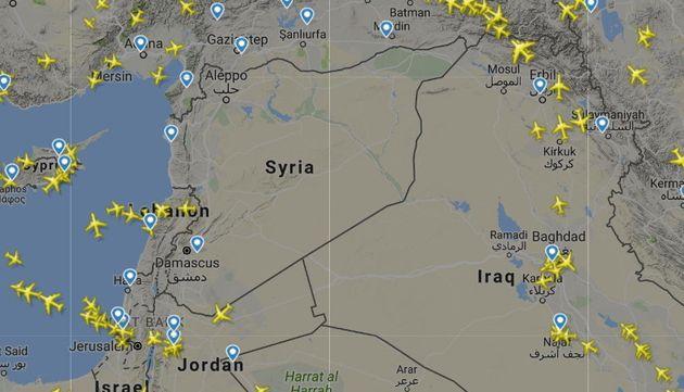 '공습 가능성' 때문에 시리아 인근에 비행 주의보가