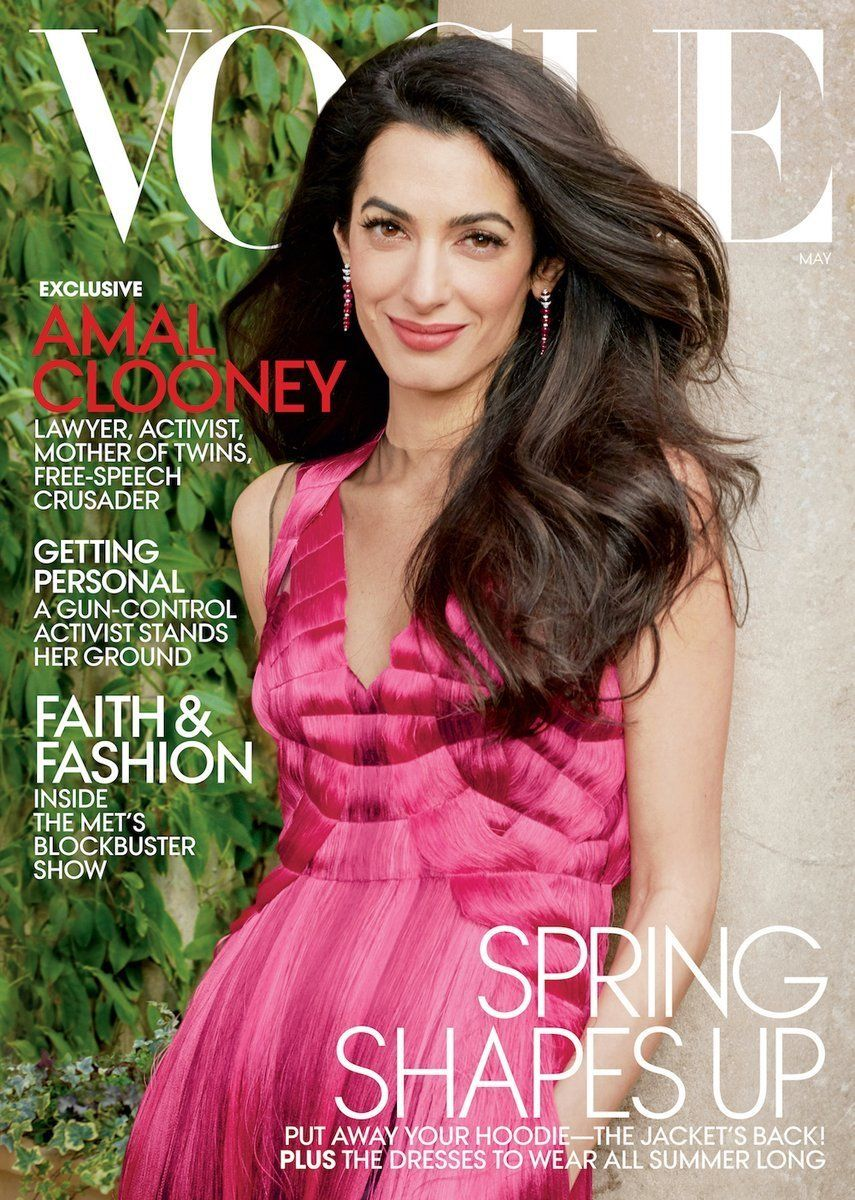 5 Things People Are Loving About Amal Clooney's First Vogue