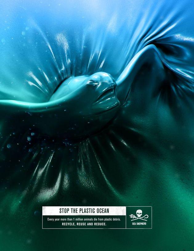 La campagne déchirante de Sea Shepherd contre la pollution plastique des