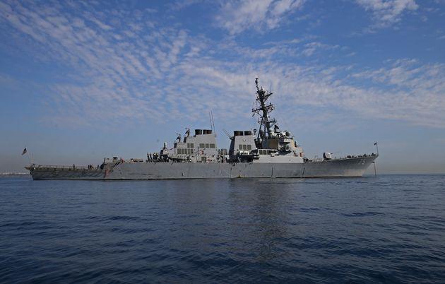 미국 해군 미사일 구축함 도널드 쿡(Donald