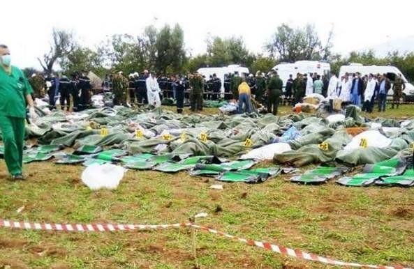Crash de Boufarik: La gendarmerie oeuvre à faciliter le mouvement de la noria des ambulances vers hôpital...