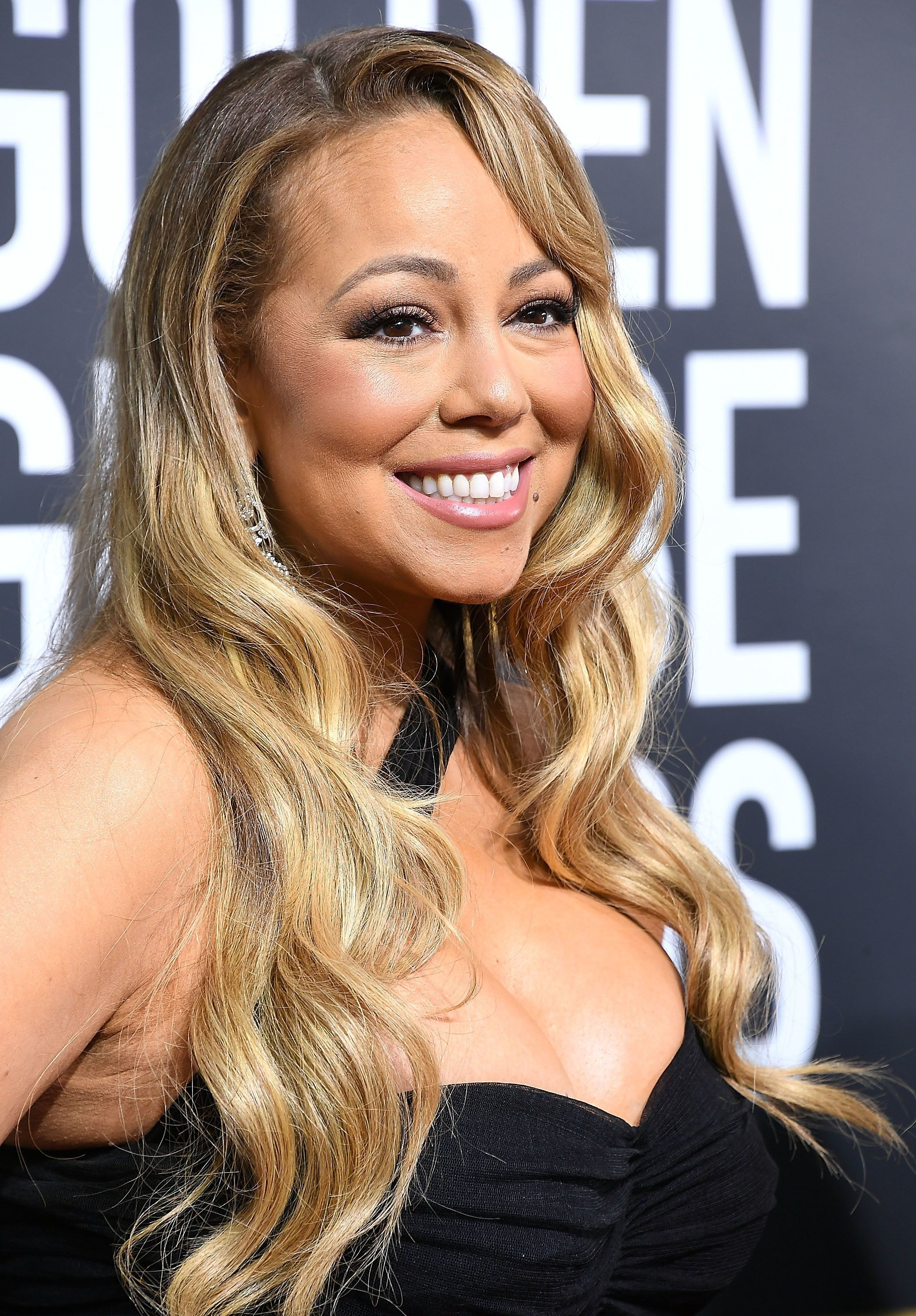 BEVERLY HILLS, CA - JANUARY 07:  Mariah Carey arrives at the 75th Annual Golden Globe Awards at The Beverly Hilton Hotel on January 7, 2018 in Beverly Hills, California.  (Photo by Steve Granitz/WireImage)