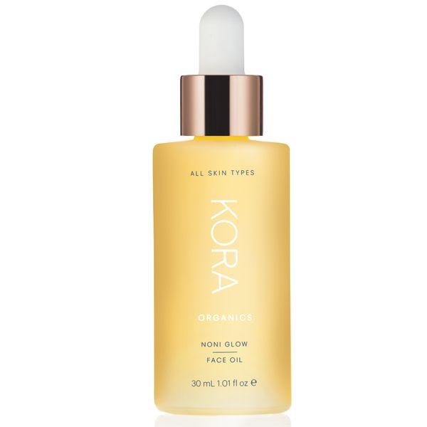 """The Noni Glow face oil from Miranda Kerr's <a href=""""https://us.koraorganics.com/"""" target=""""_blank"""">Kora Organics</a> line is f"""