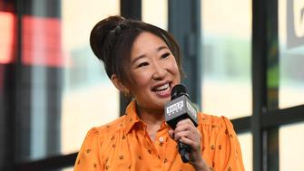 NEW YORK, NY - APRIL 05:  Actress Sandra Oh visits Build Series to discuss 'Killing Eve' at Build Studio on April 5, 2018 in New York City.  (Photo by Noam Galai/Getty Images)