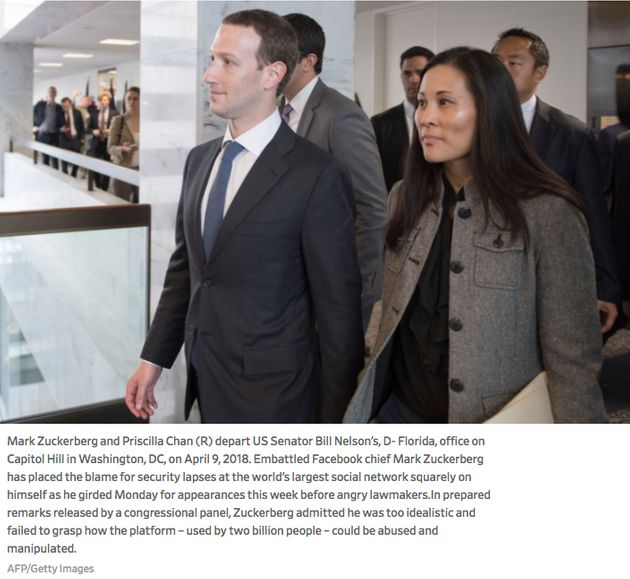 Getty Mixed Up Mark Zuckerberg's Executive Assistant With