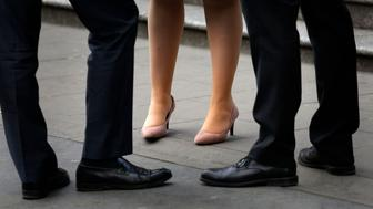 """File photo dated 08/04/15 of office workers, as Theresa May has vowed to tackle the """"burning injustice"""" of the gender pay gap as the deadline arrives for the UK's largest companies to report their figures."""