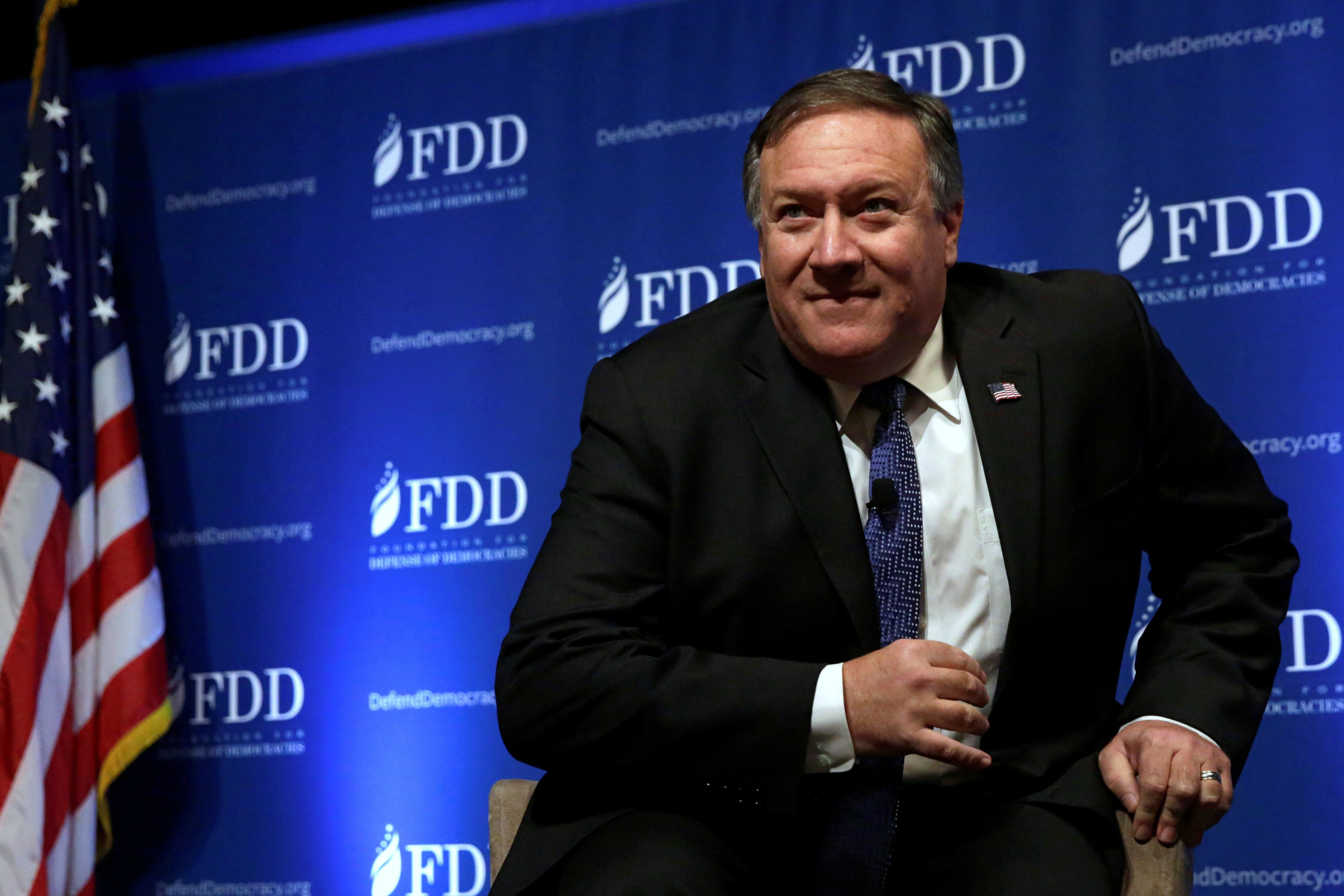 Pompeo Faces Tough Questioning In Secretary Of State Confirmation Hearing