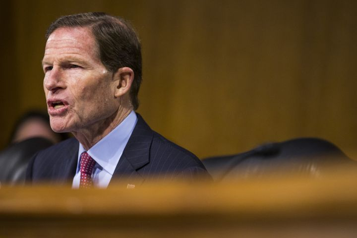 Sen. Richard Blumenthal (D-Conn.) pressed a Trump court nominee on her past statements about Planned Parenthood.