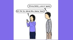 Man's Illustrations About His Wife And Toddler Are So Darn