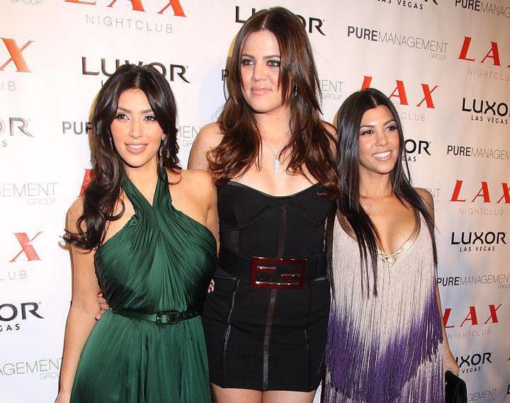 HKim, η Khloe και η Kourtney Kardashian.