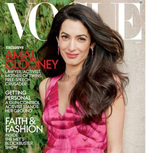 Πρώτο εξώφυλλο στη Vogue για την Amal Clooney - Μεγάλη χαρά για την απουσία του