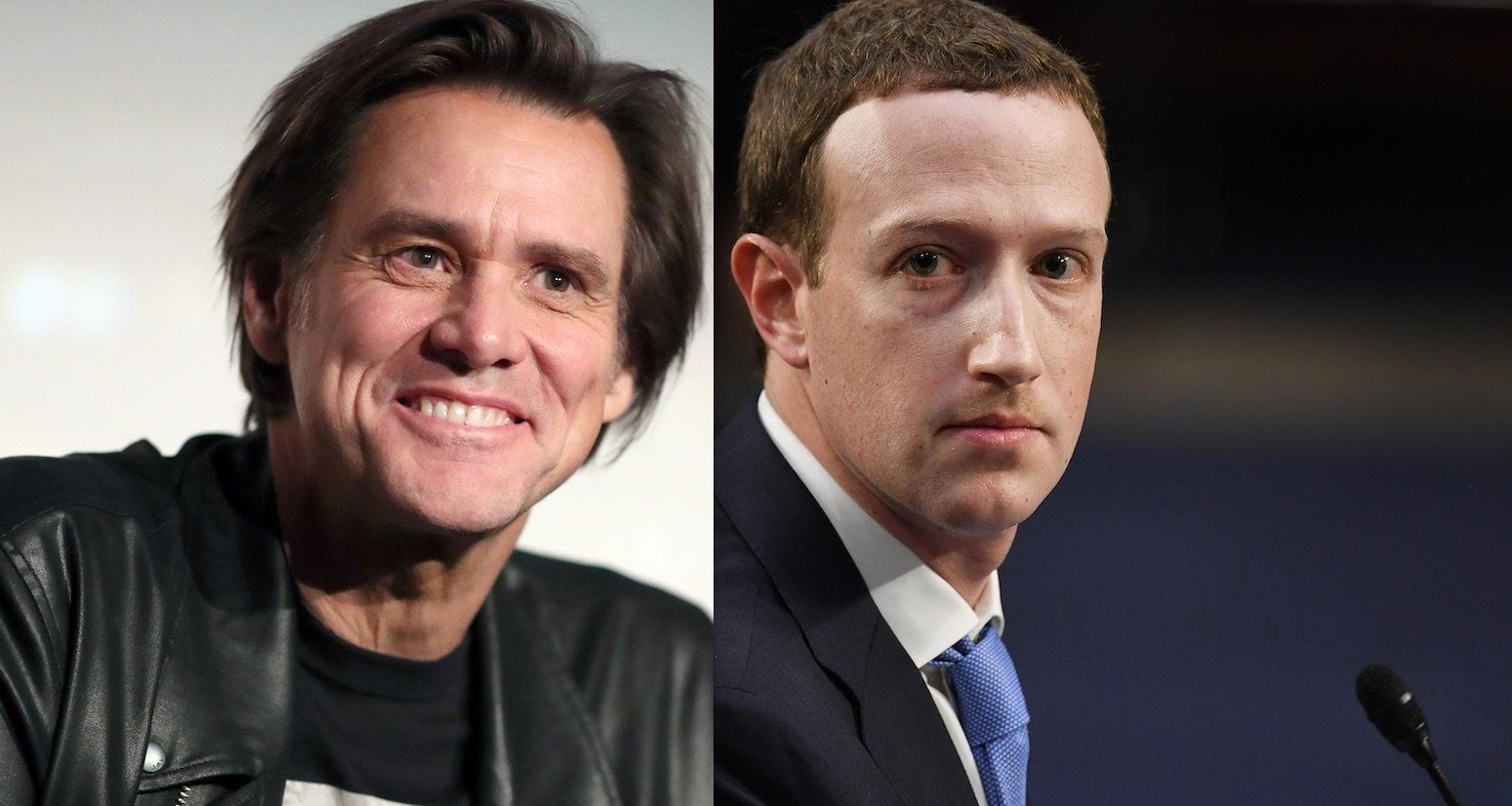 Jim Carrey Mark Zuckerberg