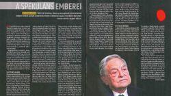 Eine Zeitungsseite zeigt, wie rasant der Rechtsstaat in Viktor Orbáns Ungarn zerbröselt