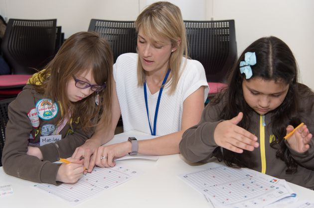 To be awarded the badge, girls will learn about algorithms and why they are important for coding and