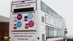 This Bus Raises Awareness Of Ovarian Cancer Symptoms, After Employee Lost Wife To The