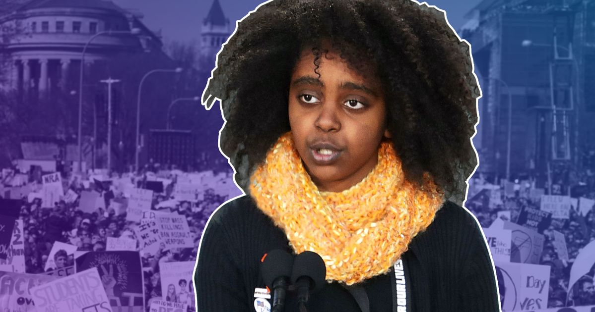 Here's What 11-Year-Old Activist Naomi Wadler Wants Adults To Know