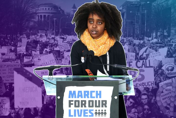 Naomi Wadler, 11, wants adults to listen up.