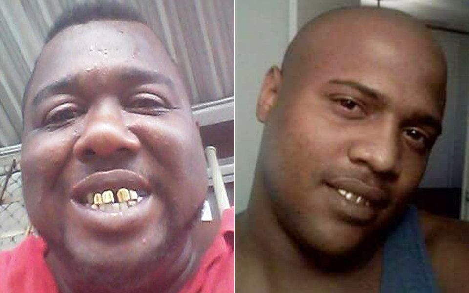 "Alton Sterling, left, and Antonio ""Tony"" Sterling."