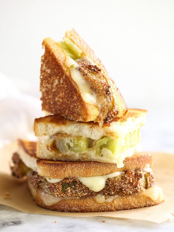 "<strong>Get the <a href=""https://www.foodiecrush.com/fried-green-tomatoes-grilled-cheese-sandwich/"" target=""_blank"">Fried Gre"