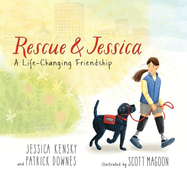 The couple's book, Rescue& Jessica, came out in