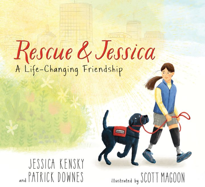 The couple's book, <i>Rescue & Jessica</i>, came out in April.