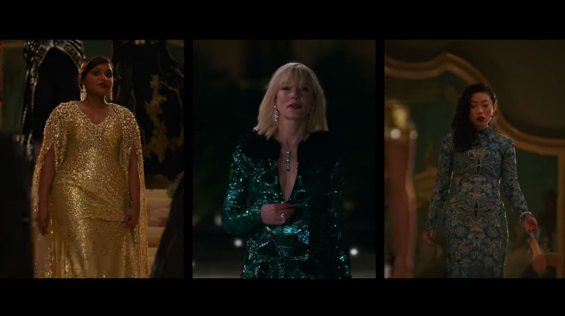 The film features a gorgeous wardrobe for our favorite actresses.