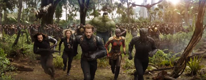 """""""Avengers: Infinity War""""ticketsare selling quickly."""