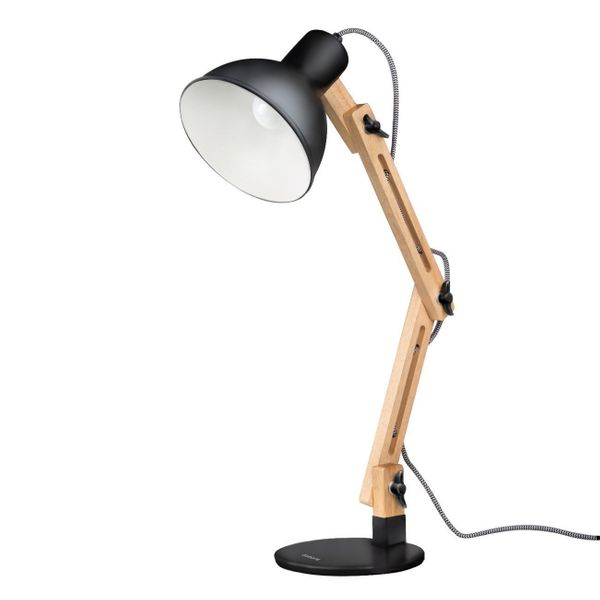 "This lamp is easily adjustable, so it's perfect for a workspace or bedside table. Get it <a href=""https://www.amazon.com/dp/B"
