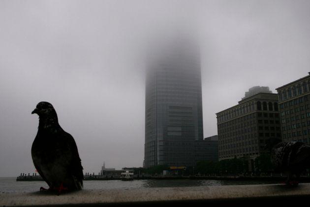 Das Gebäude der Investmentbank Goldman Sachs in New
