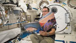 FYI, You Can Watch Astronauts Read Popular Kids Books From