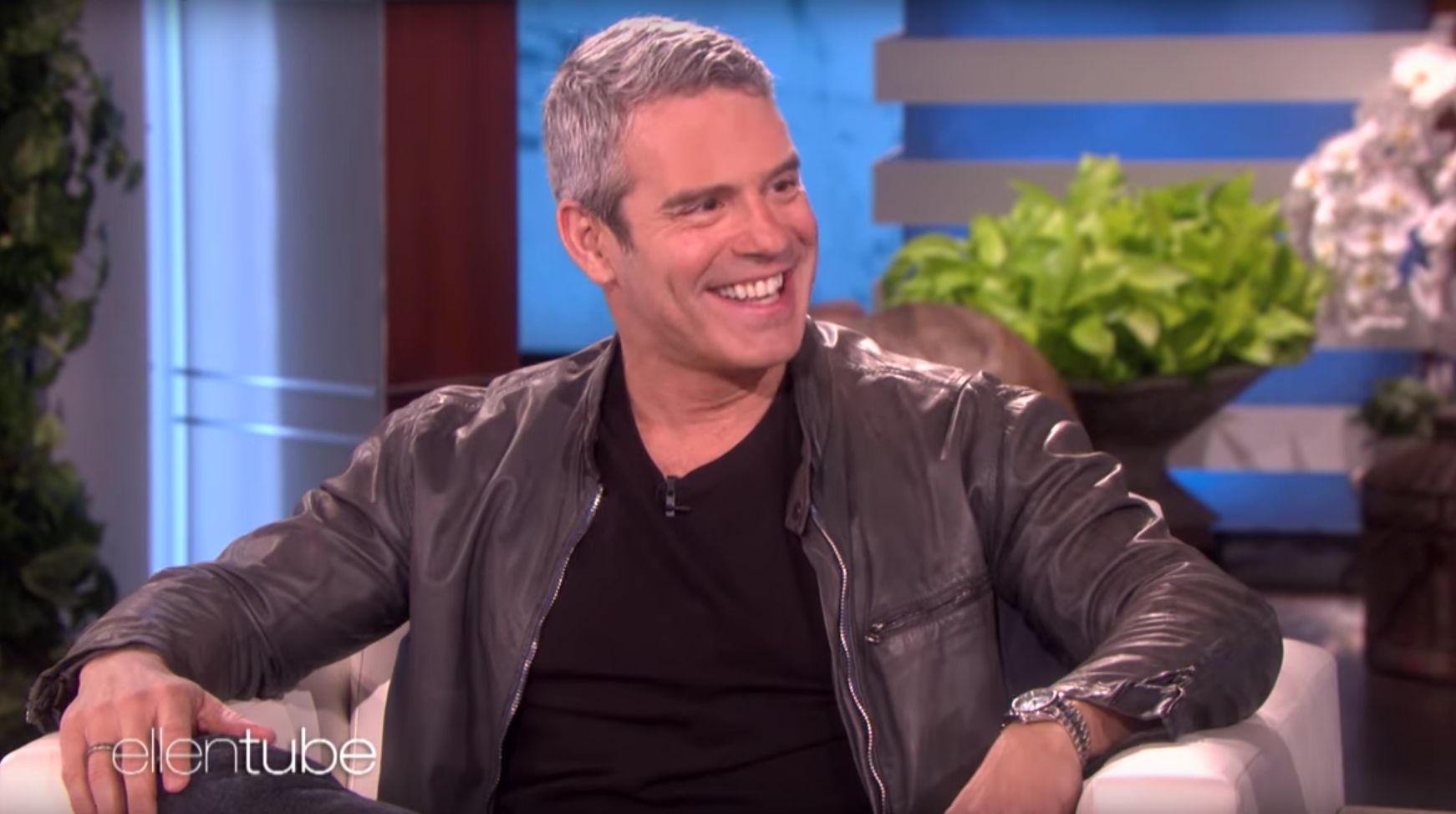 Andy Cohen Tells Ellen Why He Gets Kicked Off A Gay Dating App