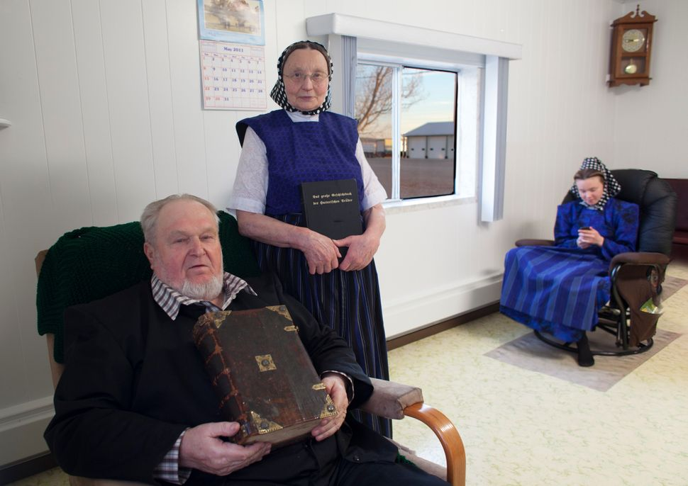 The Hutterites originated in Austria and Moravia.