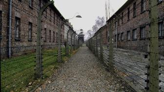 Auschwitz-Birkenau concentration and extermination camp. (Photo by Serge Attal/Sygma via Getty Images)
