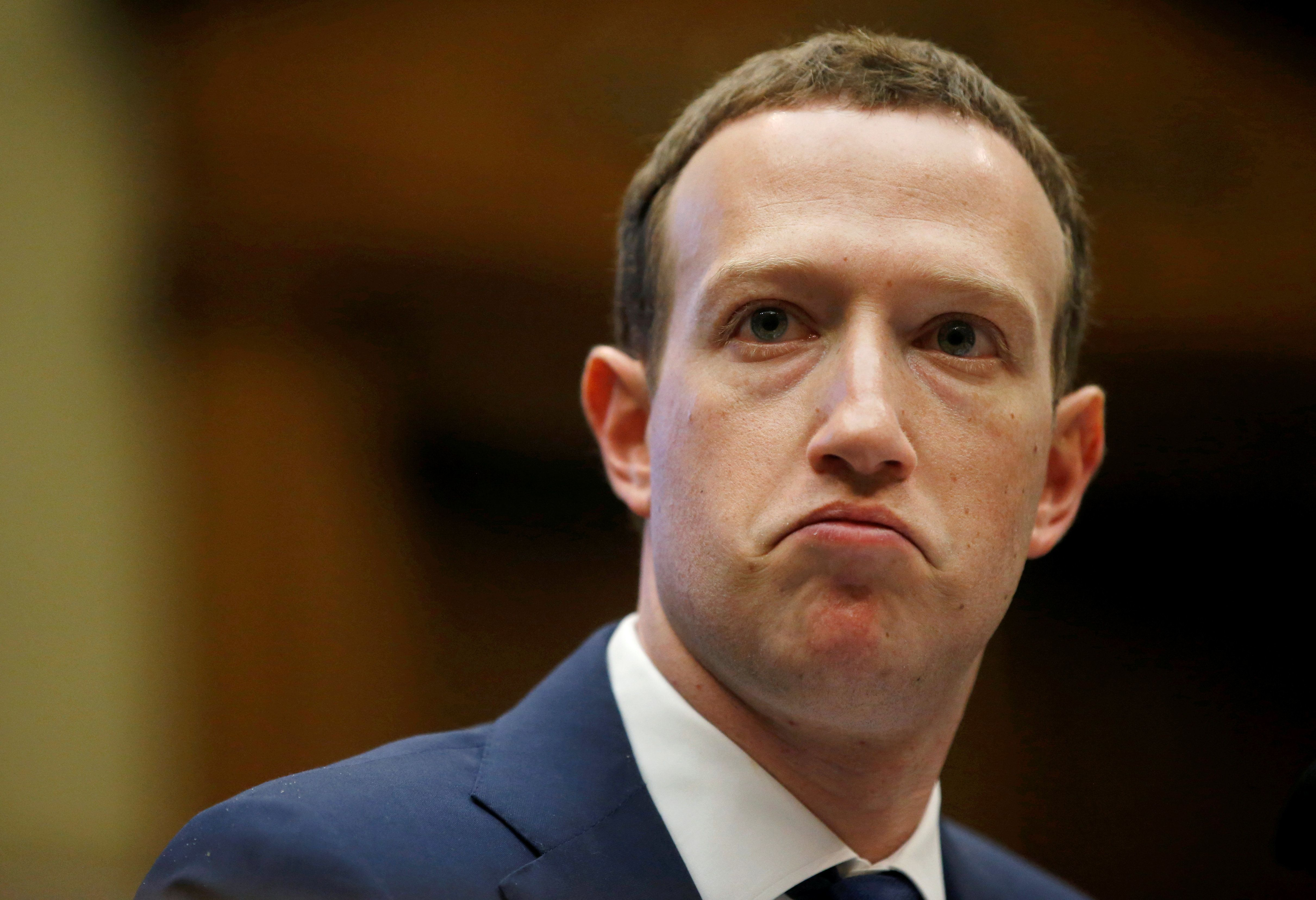 """""""We do not allow hate groups on Facebook, overall,"""" according to Facebook CEO Mark Zuckerberg."""