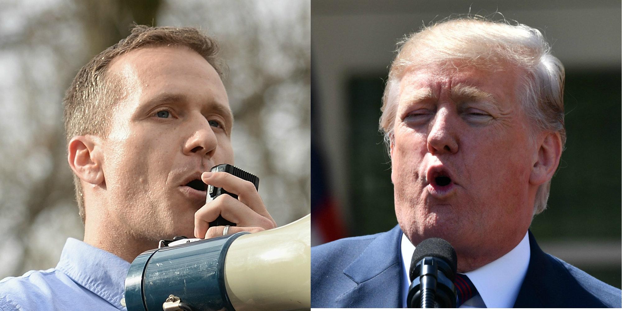 GOP senator to Trump: Ask Greitens to resign