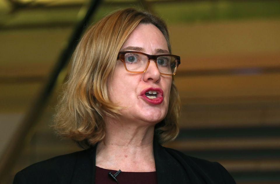 Home Secretary Amber Rudd chose to crack down on social media companies in the serious crime