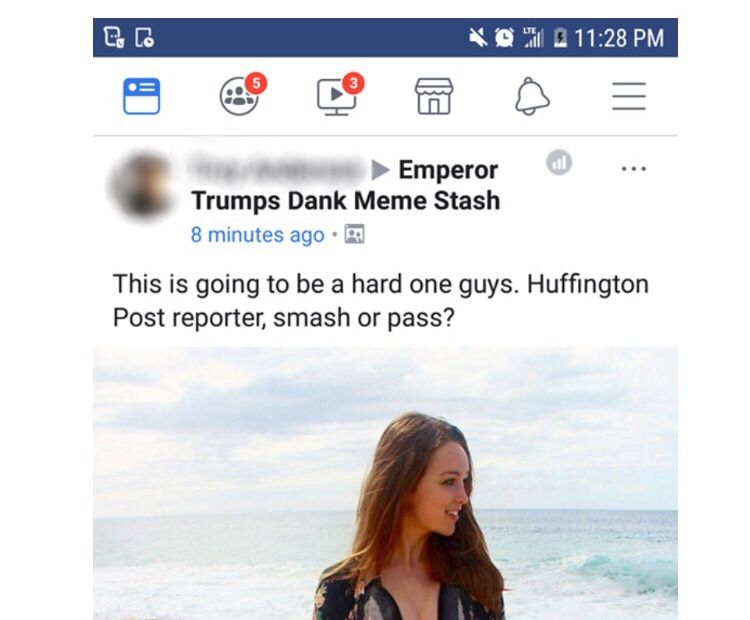 "A cropped copy of my photo posted in ""Emperor Trumps Dank Meme Stash."""