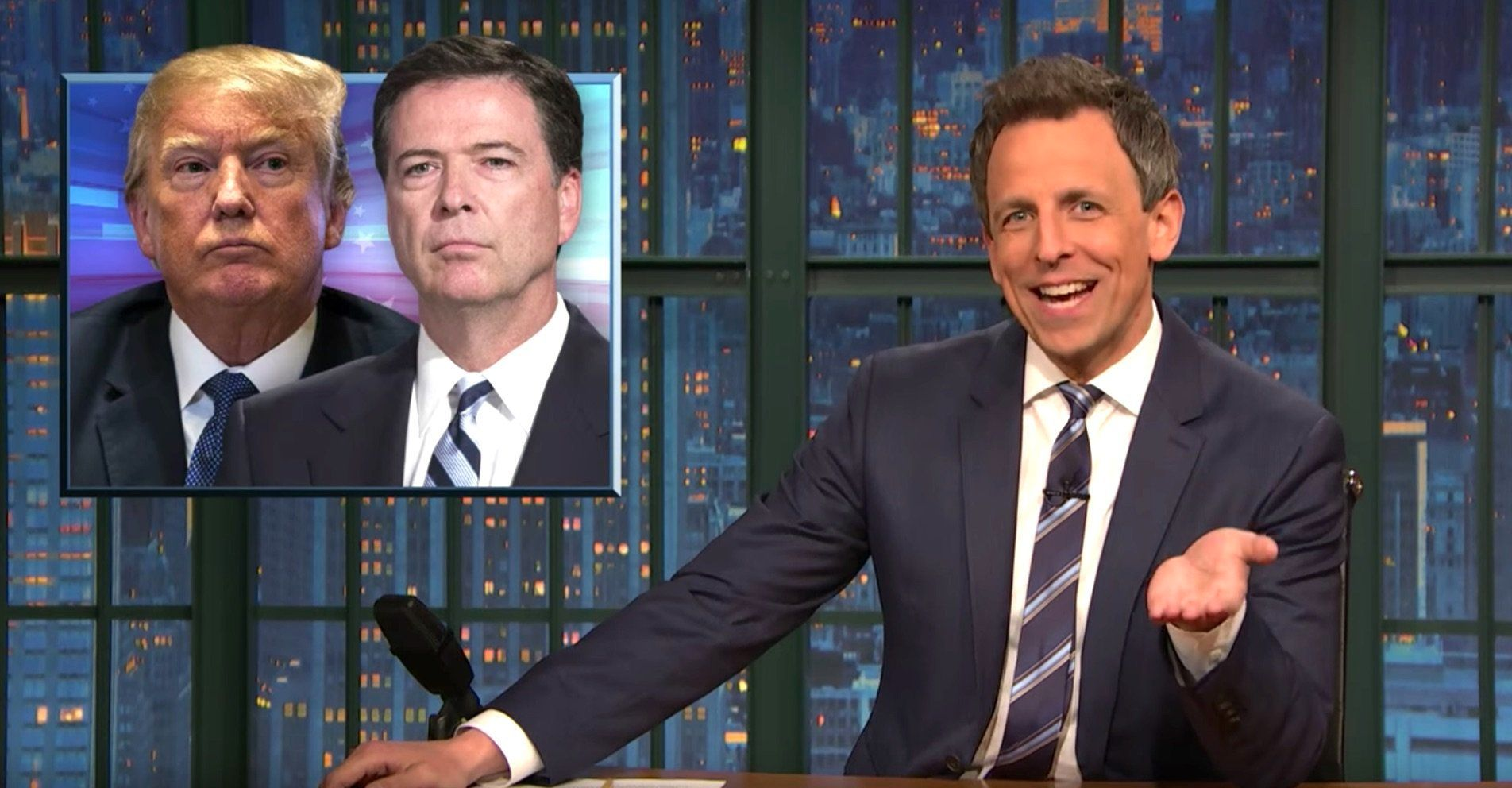 Seth Meyers Decodes The 'Pee Tape' News: 'Oh My God. It's Real!'