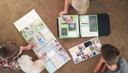 Scrapbooking With Kids: Why Taking Time To Get Creative Should Be A Family