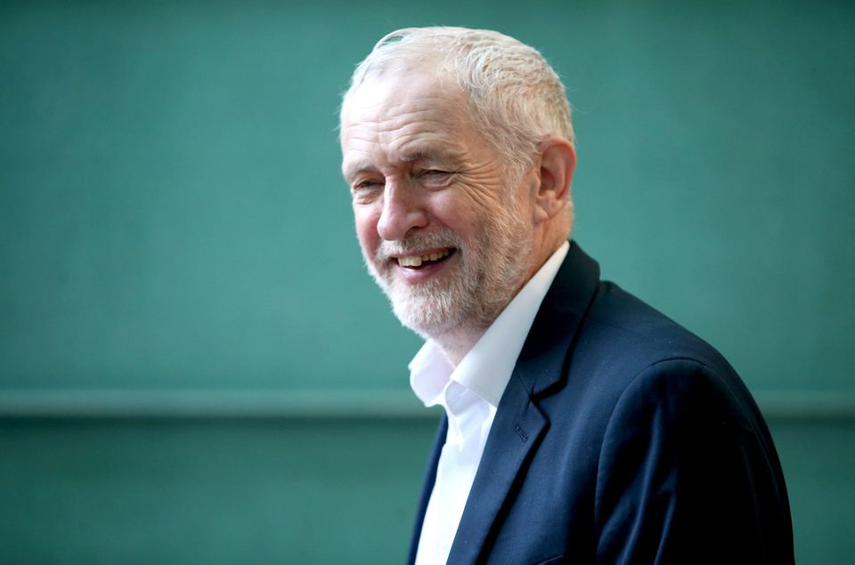 Labour leader Jeremy Corbyn during the Scottish Labour conference in Caird Hall,