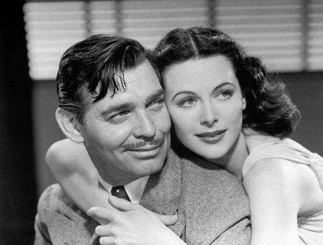 Με τον Clark Gable συμπρωταγωνιστή...