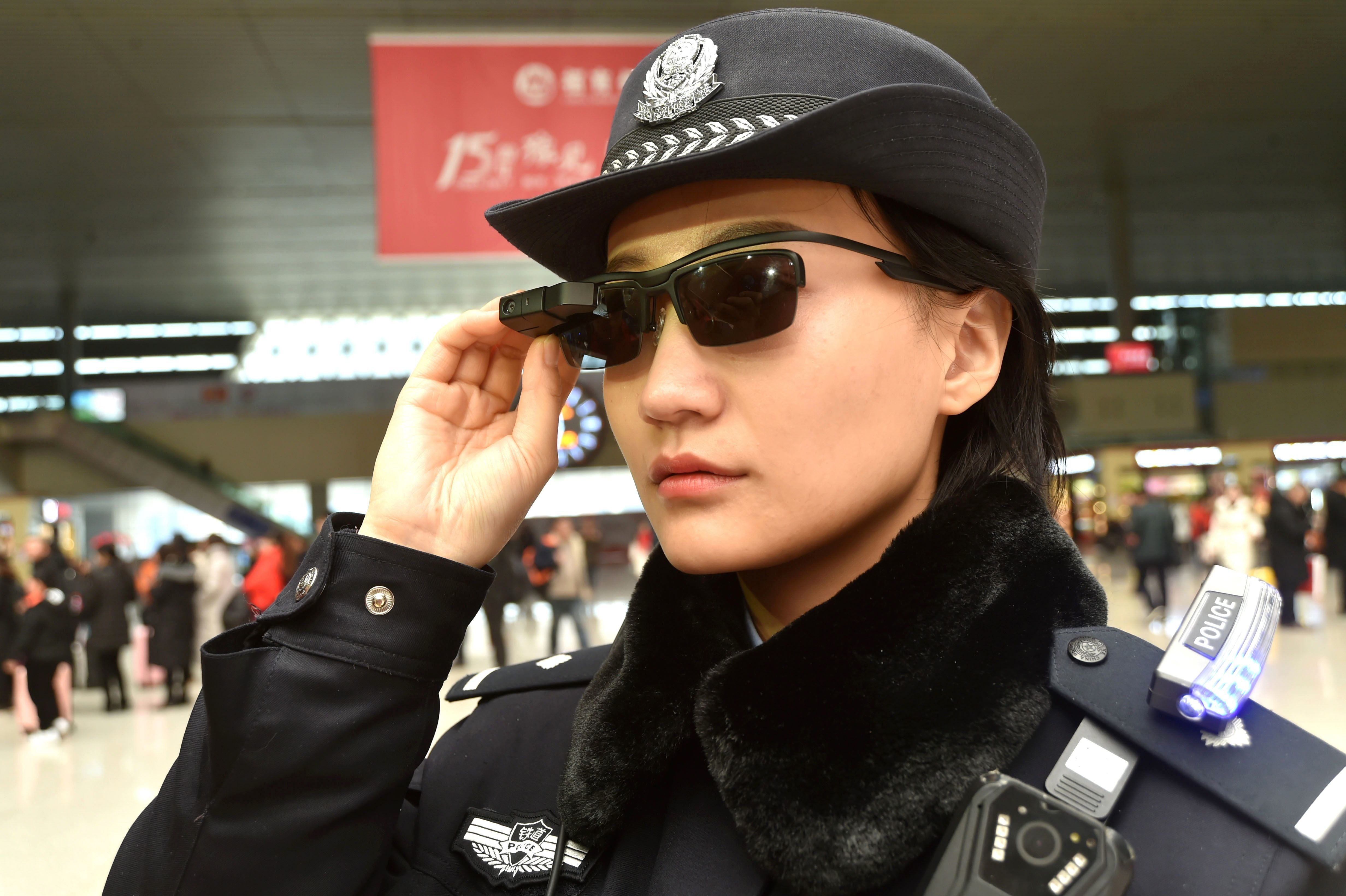 Facial recognition software lets Chinese police spot face in 50000