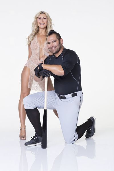 Emma Slater and Johnny Damon