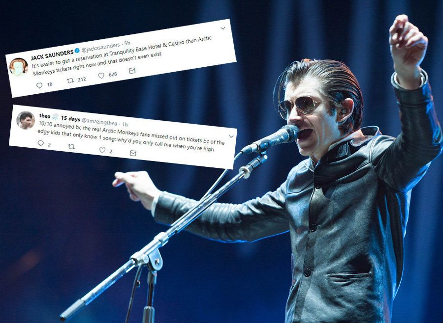 The Arctic Monkeys Ticket Saga Has Brought Out The Best And Worst In People
