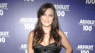 HOLLYWOOD, CA - APRIL 22: Khloe Kardashian attends Absolut 100 Official Concert After Party For Kanye West at GOA on April 22, 2008 in Hollywood, CA. (Photo by ANDREAS BRANCH/Patrick McMullan via Getty Images)