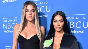 NBCUNIVERSAL UPFRONT EVENTS --  2017 NBCUniversal Upfront in New York City on Monday, May 15, 2017 -- Red Carpet -- Pictured: (l-r) Khloe Kardashian, Kim Kardashian, 'Keeping Up with the Kardashians' on E! Entertainment - (Photo by: Theo Wargo/NBCUniversal/NBCU Photo Bank via Getty Images)