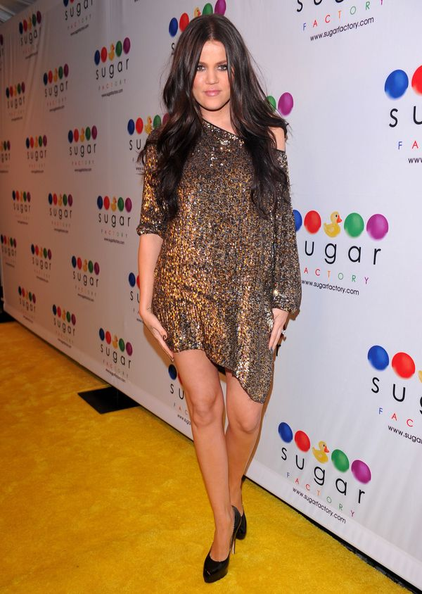 At the launch of Mel B's Sugar Factory Couture Lollipop at Guys and Dolls Lounge in Los Angeles.